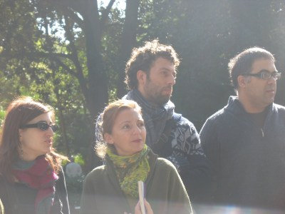 Sra. Presidenta, Lola Crespo, Fernando Massía, Fran Nuño