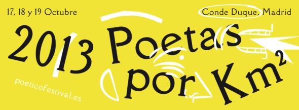 2013 Poetas por Km2