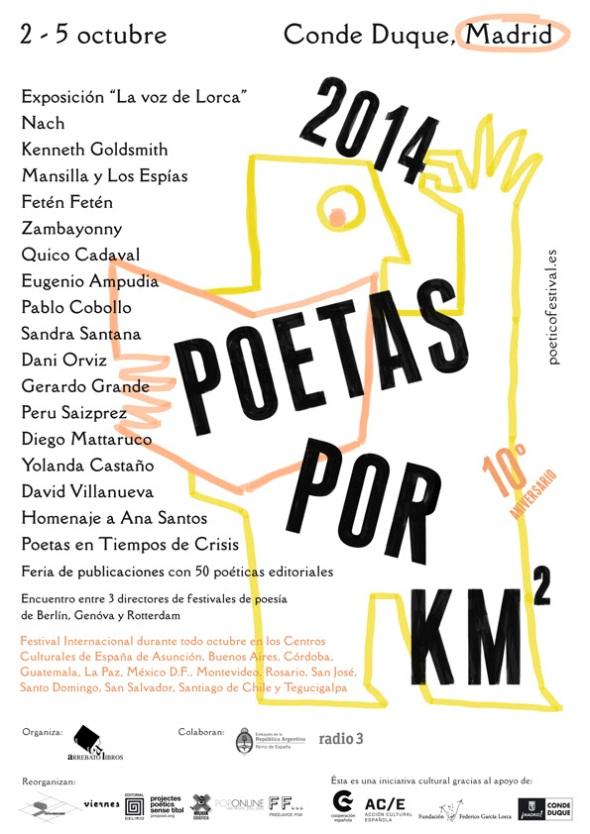poetas x km2 2014
