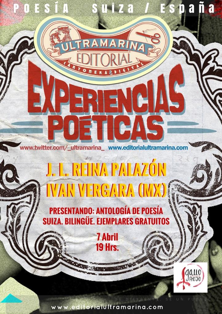 Experiencias Poéticas - 2017 Abril