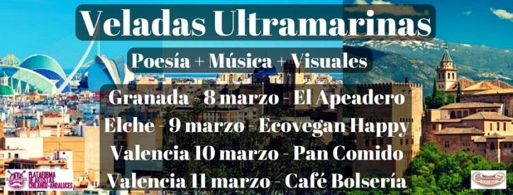 Veladas Ultramarinas - Gira 2017 - Marzo
