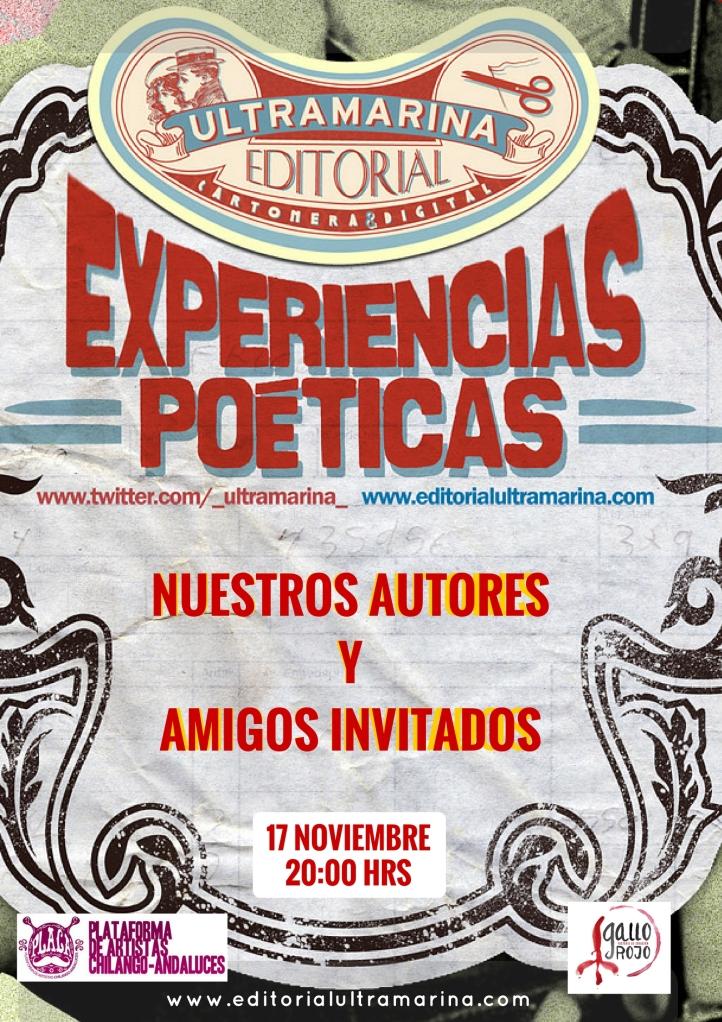 Experiencias Poéticas - 2017 Madrid